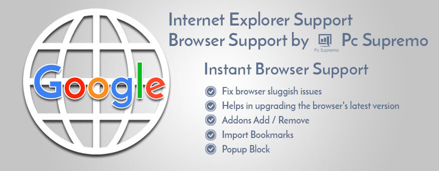 Google Chrome Support UK | Chrome Browser Help Number -PcSupremo